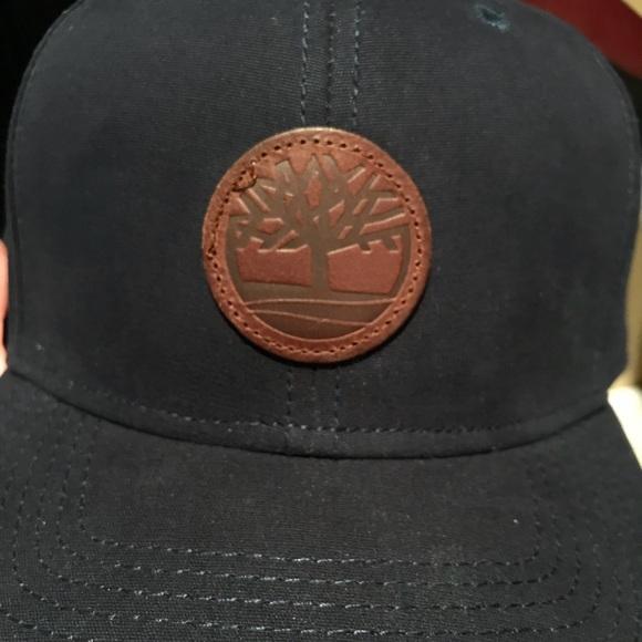 68f85d15 Timberland Accessories | Navy Snapback Hat | Poshmark